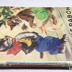 Libros de segunda mano: PELE RABON TRIUNFADOR - KNUTSSON, GÖSTA - COLECCIÓN CASCABEL - HYMSA. Lote 194770330