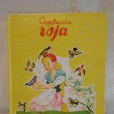Libros de segunda mano: M69 CUENTO CAPERUCITA ROJA. ED. SOPENA. AÑO 1959. ILUSTRACIONES ROMAIN SIMON.. Lote 145772942