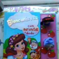 Libros de segunda mano: CUENTO BLANCANIEVES CON MARIONETAS DE DEDO. Lote 145799878