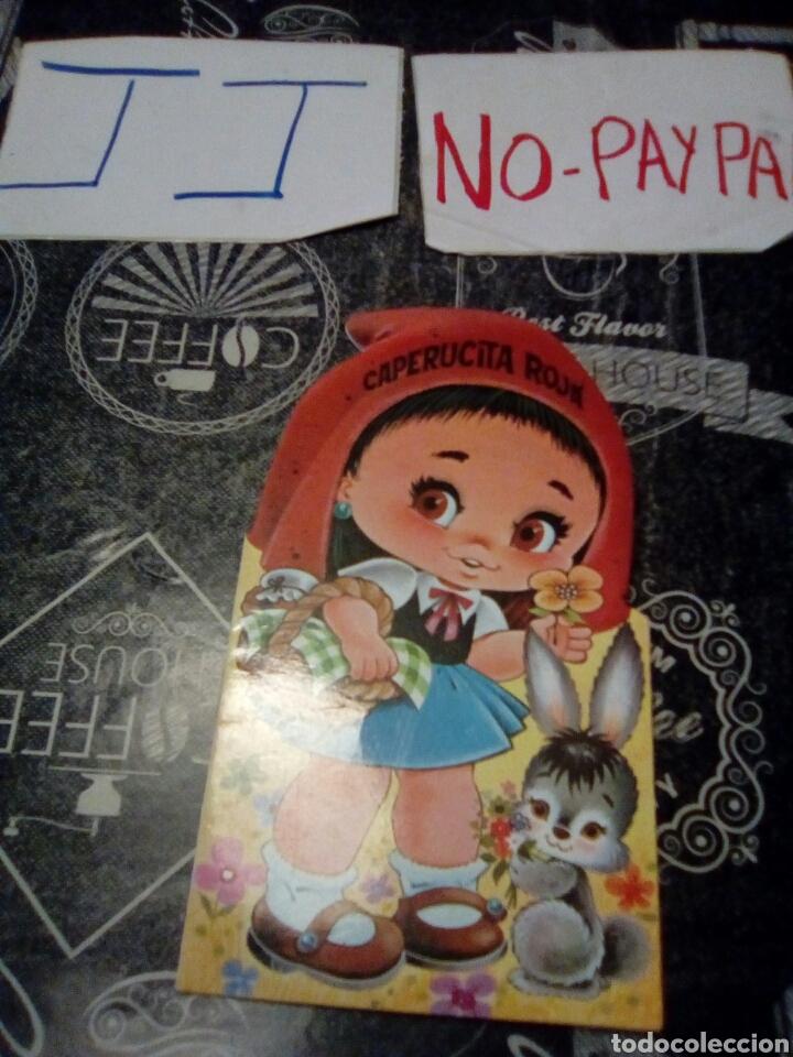 CUENTO TROQUELADO CAPERUCITA ROJA COLECCIÓN FLEQUILLO (Libros de Segunda Mano - Literatura Infantil y Juvenil - Cuentos)