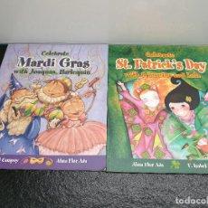 Libros de segunda mano: CELEBRATE ST,PATRICK'S DAY/CELEBRATE MARDI GRAS. F. IABEL CAMPOY, ALMA FLOR ADA. INGLÉS (ENVÍO2,40€). Lote 146045766
