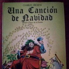 Libros de segunda mano: UNA CANCIÓN DE NAVIDAD CHARLES DICKENS CUENTO COMIC COMETA NUEVO 1985 CHIQUI DE LA FUENTE . Lote 146193326