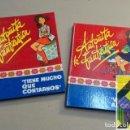 Libros de segunda mano: CASAS, BORITA: ANTOÑITA LA FANTÁSTICA TIENE MUCHO QUE CONTARNOS/ VA AL COLEGIO (2 VOLS) .... Lote 146249182