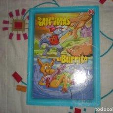 Libros de segunda mano: EL GATO CON BOTAS/EL BURRITO;CUENTOS CLÁSICOS IRATXO Nº3;2006. Lote 146269250