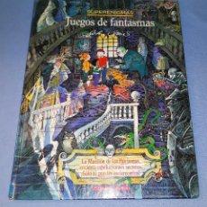 Libros de segunda mano: SUPERENIGMAS JUEGOS DE FANTASMAS DE TIMUN MAS GRAN FORMATO VER DESCRIPCION. Lote 146398742