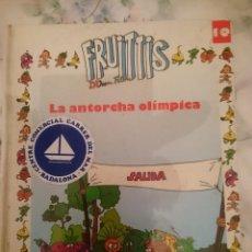 Libros de segunda mano: FRUITTIS - LA ANTORCHA OLIMPICA - VER FOTOS. Lote 146596022