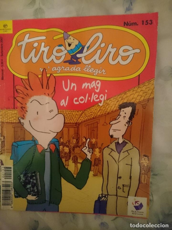 TIRO LIRO - UN MAG AL COL LEGI (Libros de Segunda Mano - Literatura Infantil y Juvenil - Cuentos)