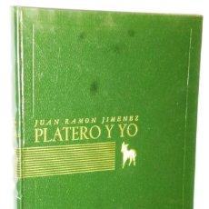 Libros de segunda mano: PLATERO Y YO. ELEGIA ANDALUZA (1907-1916). Lote 146600690