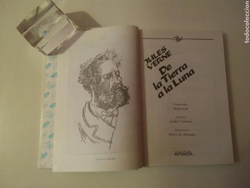 Libros de segunda mano: Colección-TUS LIBROS-ANAYA-Año1980-JULES VERNE DE LA TIERRA A LA LUNA-N.84 - Foto 4 - 146653729