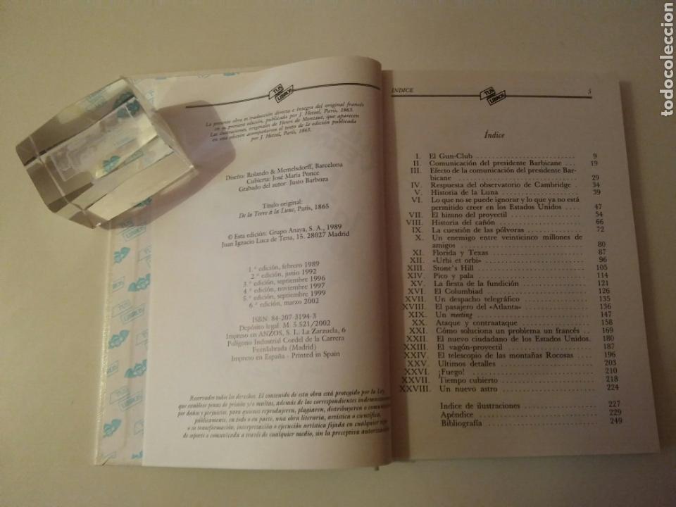 Libros de segunda mano: Colección-TUS LIBROS-ANAYA-Año1980-JULES VERNE DE LA TIERRA A LA LUNA-N.84 - Foto 7 - 146653729