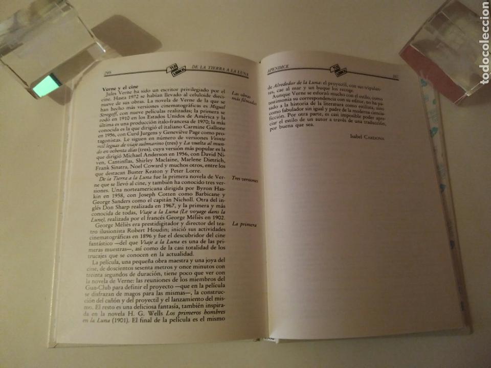 Libros de segunda mano: Colección-TUS LIBROS-ANAYA-Año1980-JULES VERNE DE LA TIERRA A LA LUNA-N.84 - Foto 11 - 146653729