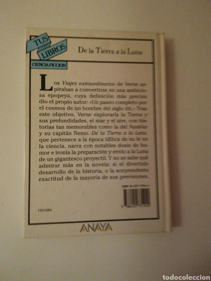 Libros de segunda mano: Colección-TUS LIBROS-ANAYA-Año1980-JULES VERNE DE LA TIERRA A LA LUNA-N.84 - Foto 12 - 146653729
