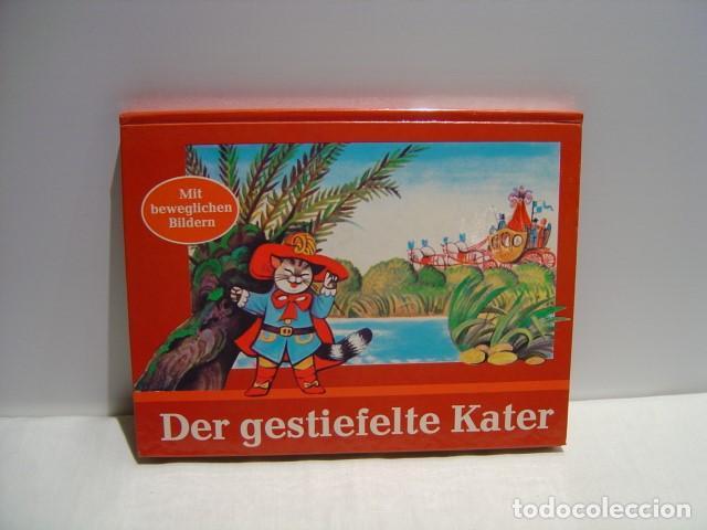 DER GESTIEFELTE KATER - EL GATO CON BOTAS - POP UP KUBASTA - AVENTINUM PRAGA 1991 (Libros de Segunda Mano - Literatura Infantil y Juvenil - Cuentos)