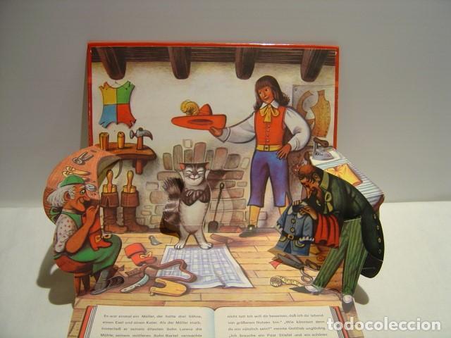 Libros de segunda mano: DER GESTIEFELTE KATER - EL GATO CON BOTAS - POP UP KUBASTA - AVENTINUM PRAGA 1991 - Foto 3 - 147223082