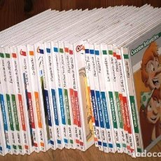 Libros de segunda mano: COLECCIÓN DE 25 CUENTOS INFANTILES DIVERSOS POR EDITORIAL SOL 90 / EL PAÍS EN MADRID 2005. Lote 147363570