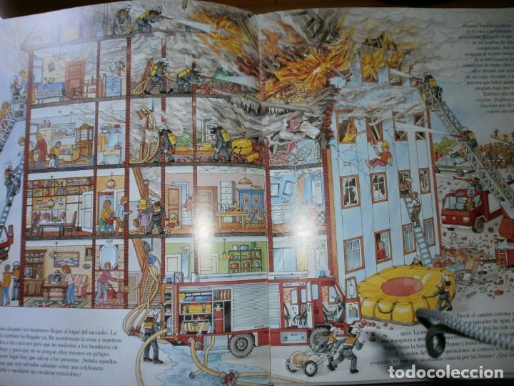 Libros de segunda mano: NUESTROS AMIGOS, LOS BOMBEROS - DIETER BÜSCH - ELFOS EDICIONES, S.L., 1999. - Foto 5 - 147580606