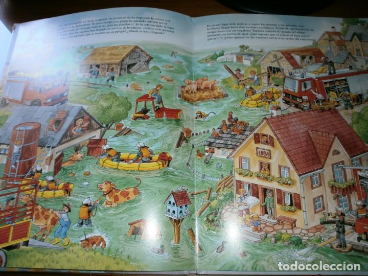 Libros de segunda mano: NUESTROS AMIGOS, LOS BOMBEROS - DIETER BÜSCH - ELFOS EDICIONES, S.L., 1999. - Foto 6 - 147580606