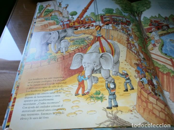 Libros de segunda mano: NUESTROS AMIGOS, LOS BOMBEROS - DIETER BÜSCH - ELFOS EDICIONES, S.L., 1999. - Foto 8 - 147580606