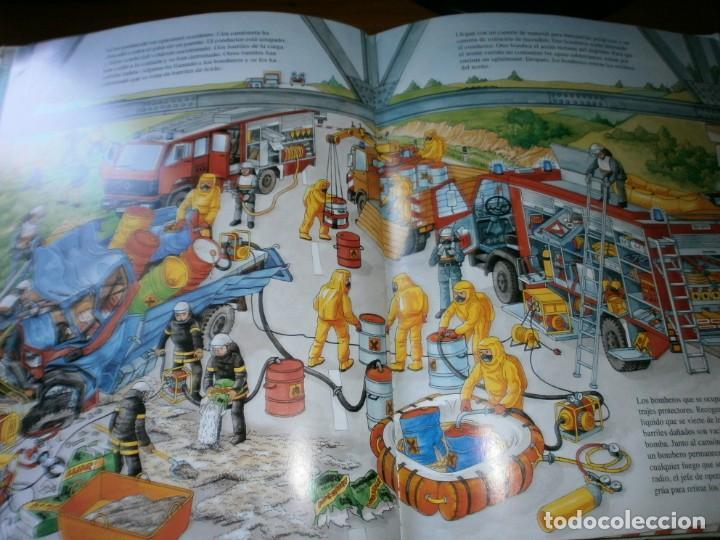Libros de segunda mano: NUESTROS AMIGOS, LOS BOMBEROS - DIETER BÜSCH - ELFOS EDICIONES, S.L., 1999. - Foto 9 - 147580606