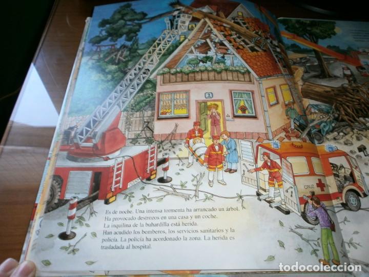 Libros de segunda mano: NUESTROS AMIGOS, LOS BOMBEROS - DIETER BÜSCH - ELFOS EDICIONES, S.L., 1999. - Foto 10 - 147580606