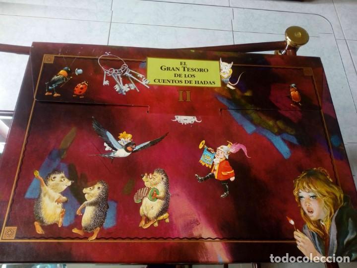 LIBRO DE CUENTOS EL GRAN TESORO DE LOS CUENTOS DE HADAS II (Libros de Segunda Mano - Literatura Infantil y Juvenil - Cuentos)