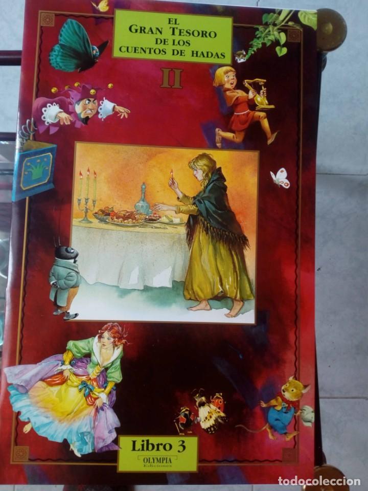 Libros de segunda mano: Libro de Cuentos El Gran Tesoro de los cuentos de Hadas II - Foto 3 - 147778814