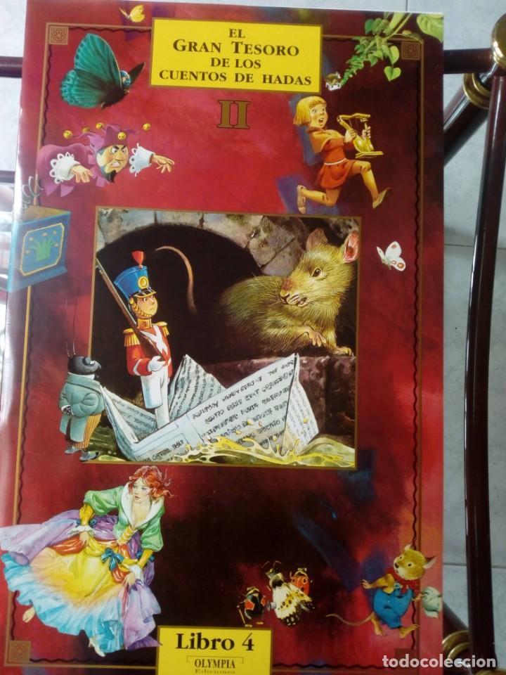 Libros de segunda mano: Libro de Cuentos El Gran Tesoro de los cuentos de Hadas II - Foto 4 - 147778814