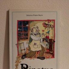 Libros de segunda mano: LIBRO - PINOTXO - INFANTIL - PILARIN BAYES - EN CATALAN. Lote 147791370