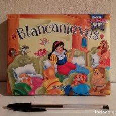 Libros de segunda mano: LIBRO TROQUELADO - BLANCANIEVES POP UP - WALT DISNEY -TODO LIBRO. Lote 147791498
