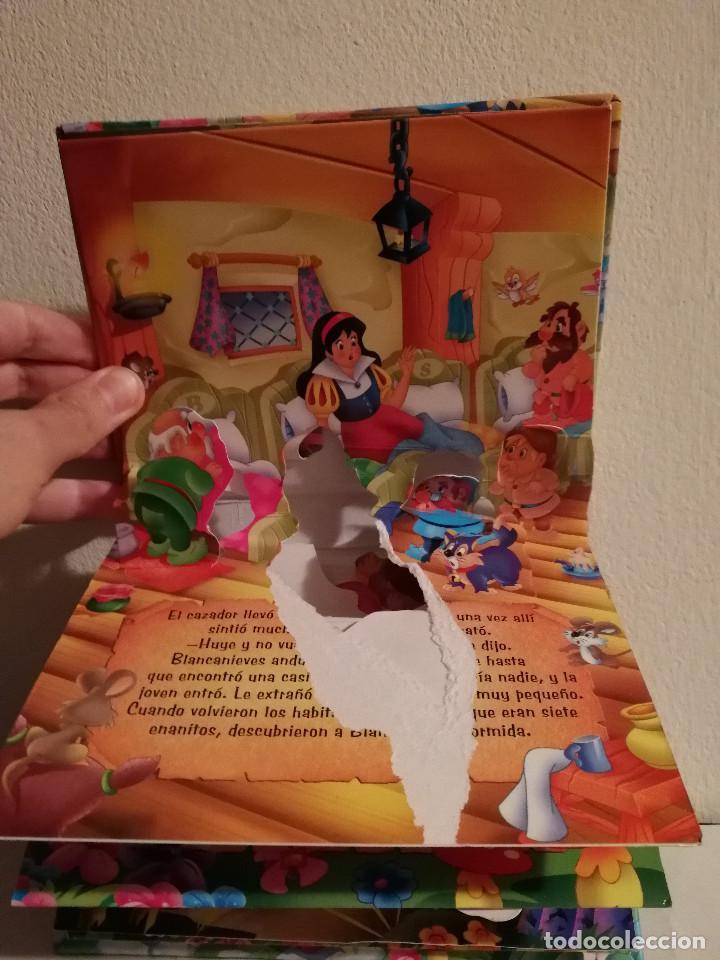 Libros de segunda mano: LIBRO TROQUELADO - BLANCANIEVES POP UP - WALT DISNEY -TODO LIBRO - Foto 3 - 147791498