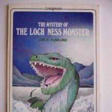 Libros de segunda mano: THE MYSTERY OF THE LOCH NESS MONSTER - LESLIE DUNKLING - LONGMAN. Lote 147918378