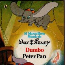 Libros de segunda mano: EL MARAVILLOSO MUNDO DE WALT DISNEY. DUMBO PETER PAN - BRUGUERA AÑO 1986 48 PÁGINAS FN170. Lote 148013650