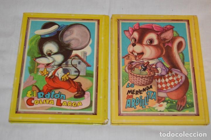 Libros de segunda mano: LOTE 6 EJEMPLARES - MIS CUENTOS DE HADAS / ALEGRES ANIMALES - AÑOS 60 - EVA - VINTAGE - ENVÍO 24H - Foto 3 - 148082670