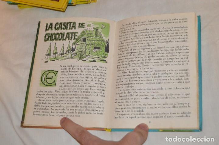 Libros de segunda mano: LOTE 6 EJEMPLARES - MIS CUENTOS DE HADAS / ALEGRES ANIMALES - AÑOS 60 - EVA - VINTAGE - ENVÍO 24H - Foto 8 - 148082670