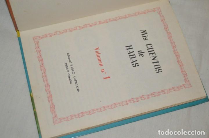 Libros de segunda mano: LOTE 6 EJEMPLARES - MIS CUENTOS DE HADAS / ALEGRES ANIMALES - AÑOS 60 - EVA - VINTAGE - ENVÍO 24H - Foto 9 - 148082670