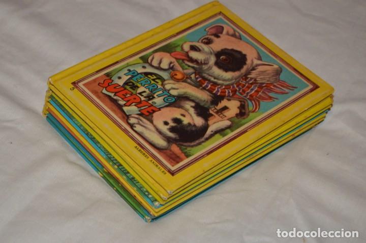 Libros de segunda mano: LOTE 6 EJEMPLARES - MIS CUENTOS DE HADAS / ALEGRES ANIMALES - AÑOS 60 - EVA - VINTAGE - ENVÍO 24H - Foto 12 - 148082670