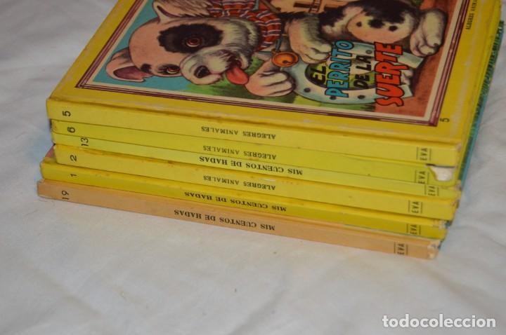 Libros de segunda mano: LOTE 6 EJEMPLARES - MIS CUENTOS DE HADAS / ALEGRES ANIMALES - AÑOS 60 - EVA - VINTAGE - ENVÍO 24H - Foto 14 - 148082670