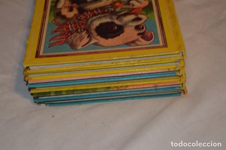 Libros de segunda mano: LOTE 6 EJEMPLARES - MIS CUENTOS DE HADAS / ALEGRES ANIMALES - AÑOS 60 - EVA - VINTAGE - ENVÍO 24H - Foto 15 - 148082670
