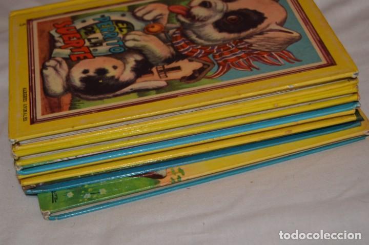 Libros de segunda mano: LOTE 6 EJEMPLARES - MIS CUENTOS DE HADAS / ALEGRES ANIMALES - AÑOS 60 - EVA - VINTAGE - ENVÍO 24H - Foto 17 - 148082670