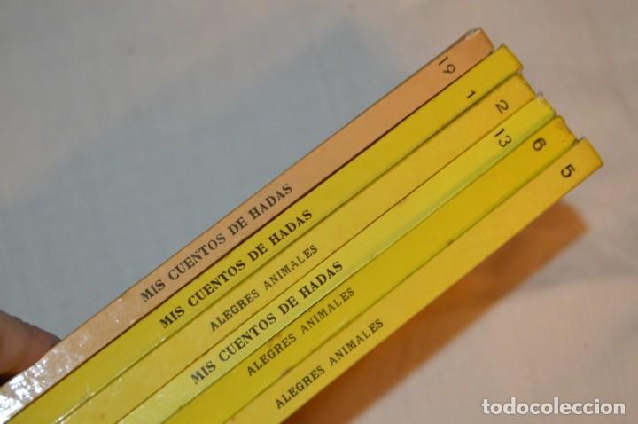 Libros de segunda mano: LOTE 6 EJEMPLARES - MIS CUENTOS DE HADAS / ALEGRES ANIMALES - AÑOS 60 - EVA - VINTAGE - ENVÍO 24H - Foto 18 - 148082670