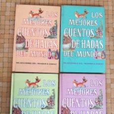 Libros de segunda mano: LOS MEJORES CUENTOS DE HADAS DEL MUNDO. SELECCIONES DEL READER'S DIGEST. 1970. 4 VOLUMENES.. Lote 148091622
