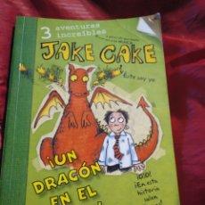 Libros de segunda mano: JAKE CAKE. UN LADRÓN EN EL COLE. Lote 148128874
