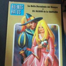 Libros de segunda mano: LA BELLA DURMIENTE DEL BOSQUE EL BARÓN DE LA CASTAÑNA BUENOS RATOS Nº 2 SIMA AÑO 1976 TAPA DURA. Lote 148185434