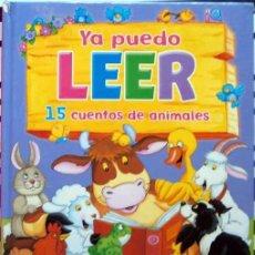 Libros de segunda mano: YA PUEDO LEER 15 CUENTOS DE ANIMALES MAUREEN SPURGEON ILUSTRA STEPHEN HOLMES SUSAETA. Lote 148189414