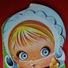 Libros de segunda mano: BONITO LIBRO CUENTO INFANTIL MARGARITA LA MOLINERA TROQUELADOS OJITOS NÚMERO 1 AÑO 1986 ED BRUGUERA. Lote 148310101