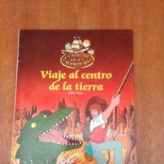 Libros de segunda mano: VIAJE AL CENTRO DE LA TIERRA - CLÁSICOS DE LA AVENTURA. Lote 148485654