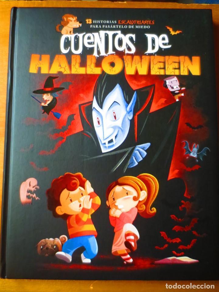 CUENTOS DE HALLOWEEN. 13 HISTORIAS ESCALOFRIANTES PARA PASARTELO DE MIEDO (BIBLOK) (Libros de Segunda Mano - Literatura Infantil y Juvenil - Cuentos)