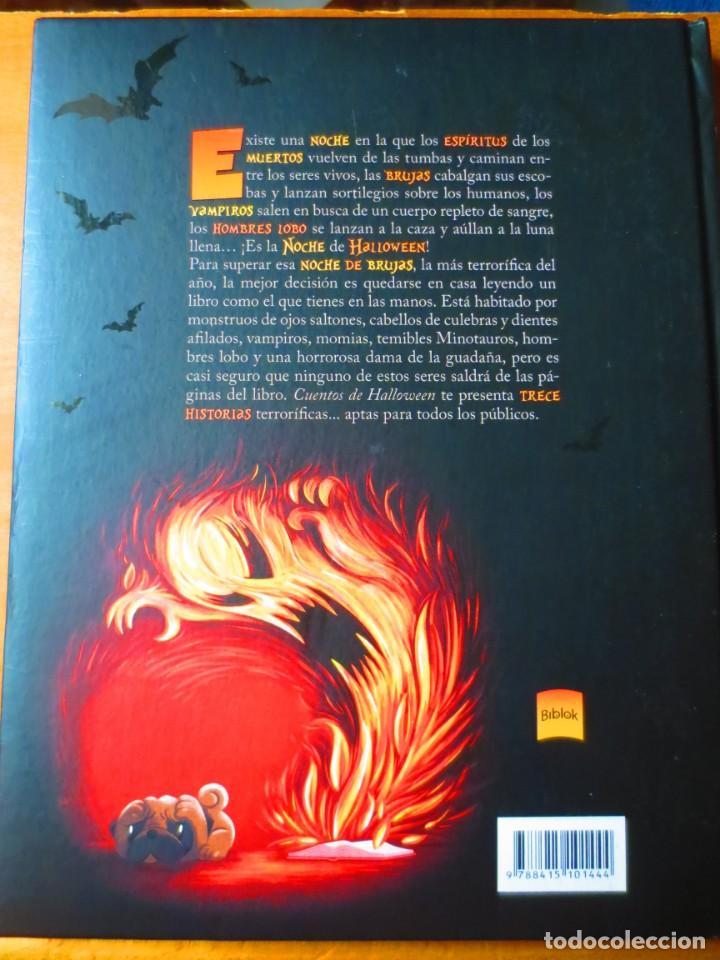 Libros de segunda mano: Cuentos de Halloween. 13 Historias Escalofriantes para pasartelo de Miedo (Biblok) - Foto 2 - 148543694