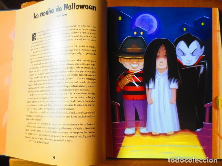 Libros de segunda mano: Cuentos de Halloween. 13 Historias Escalofriantes para pasartelo de Miedo (Biblok) - Foto 6 - 148543694
