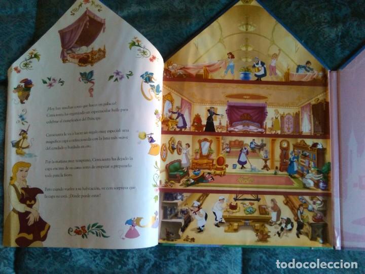 Libros de segunda mano: DISNEY PRINCESAS – EL PALACIO DE CENICIENTA - Foto 3 - 148586862